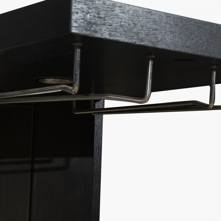 Heidi L-Shaped Bar Counter - 110 x 100 x 197 cm