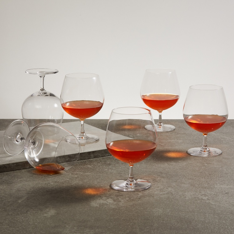 OCEAN Lucaris  6-piece Shanghai Soul Cognac Glass set - 650 ml