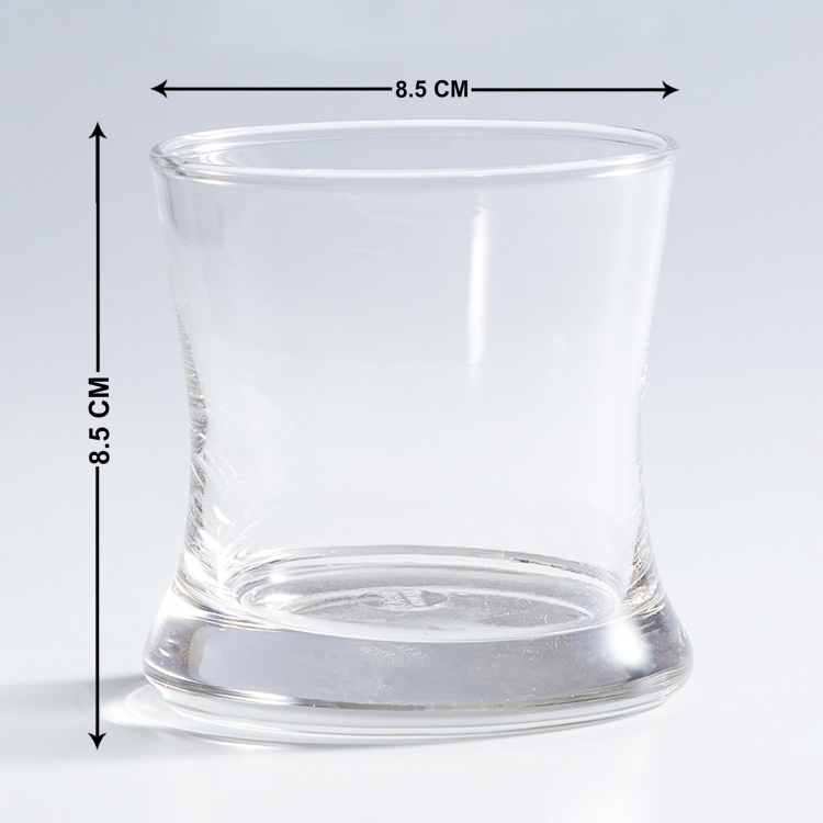 OCEAN  6-piece Round Water Glass set - 255 ml