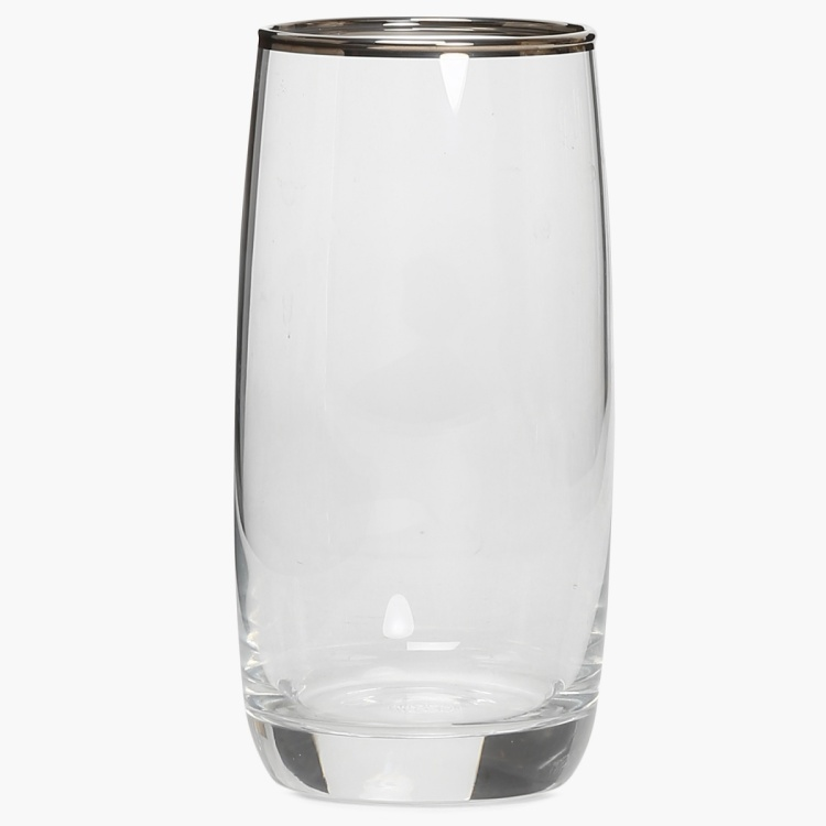 OCEAN  6-piece Curved Glass set- 370 ml