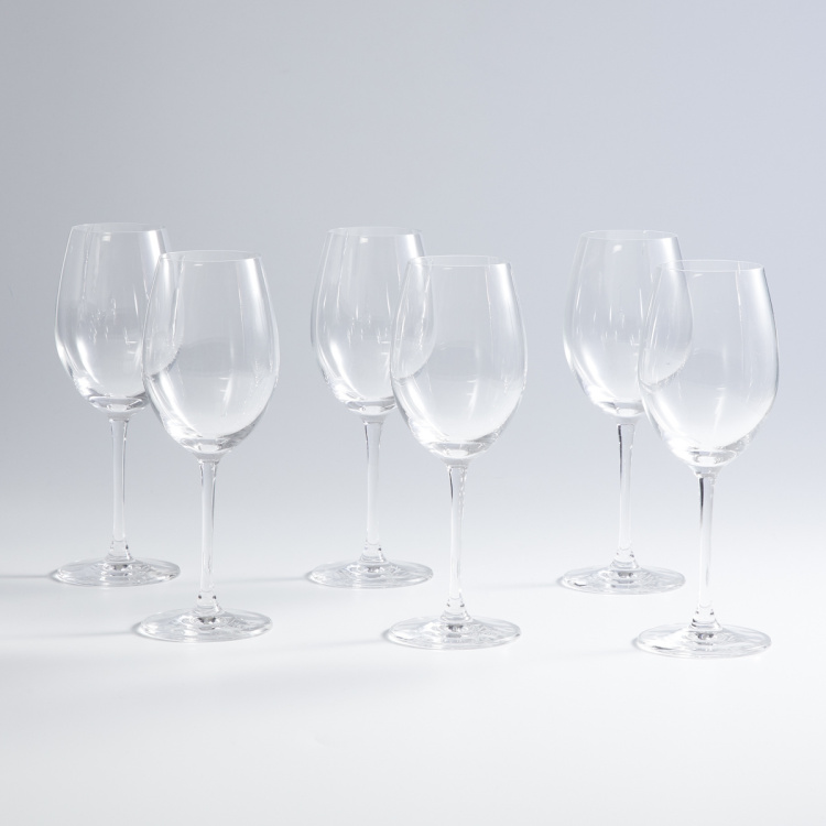 OCEAN Lucaris  6-piece Round Chardonnay Glass set -355 ml