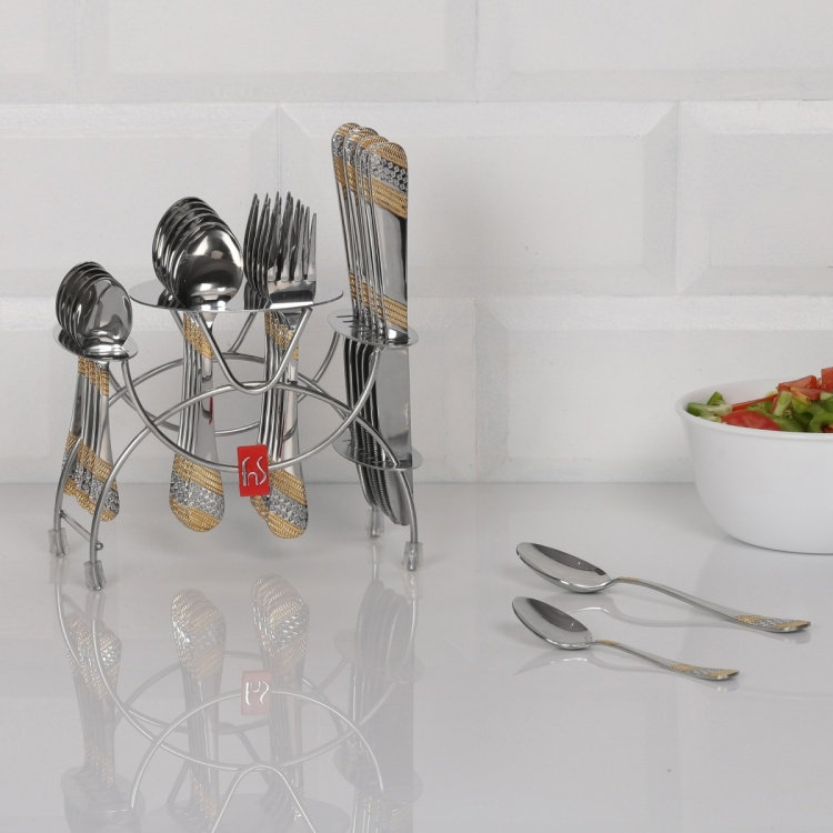 FNS Imperio Stainless Steel Cutlery Set-25 Pcs.
