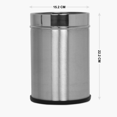 Stafford Stainless Steel Bin