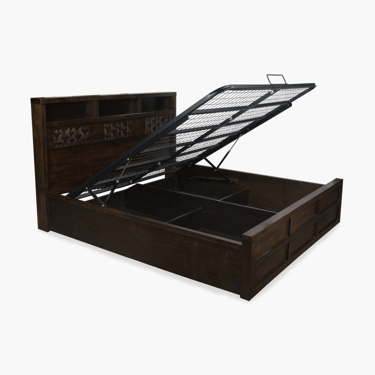 Rio King Bed with Hydraulic Storage