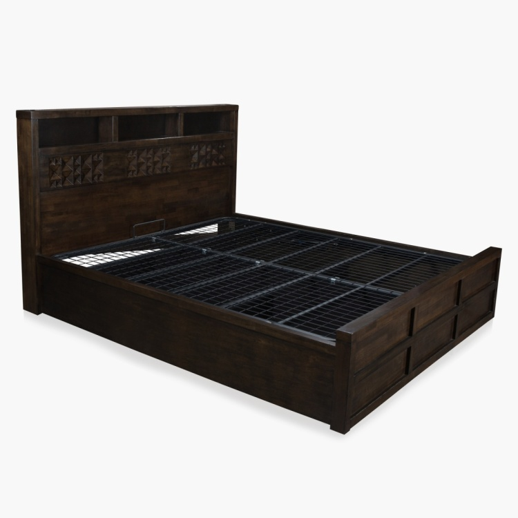 Rio Queen Bed with Hydraulic Storage