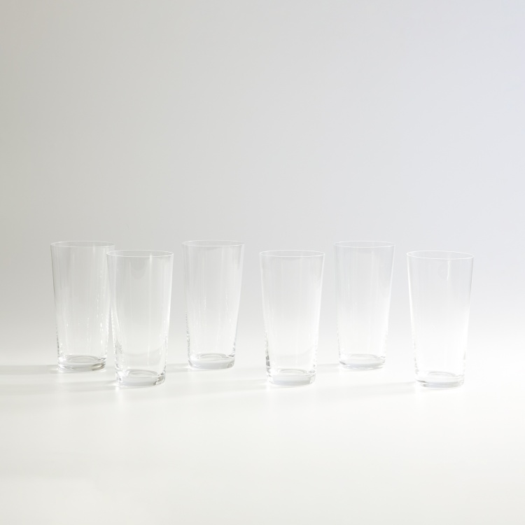 BOHEMIA CRYSTAL Round Water Glasses - Set of 6