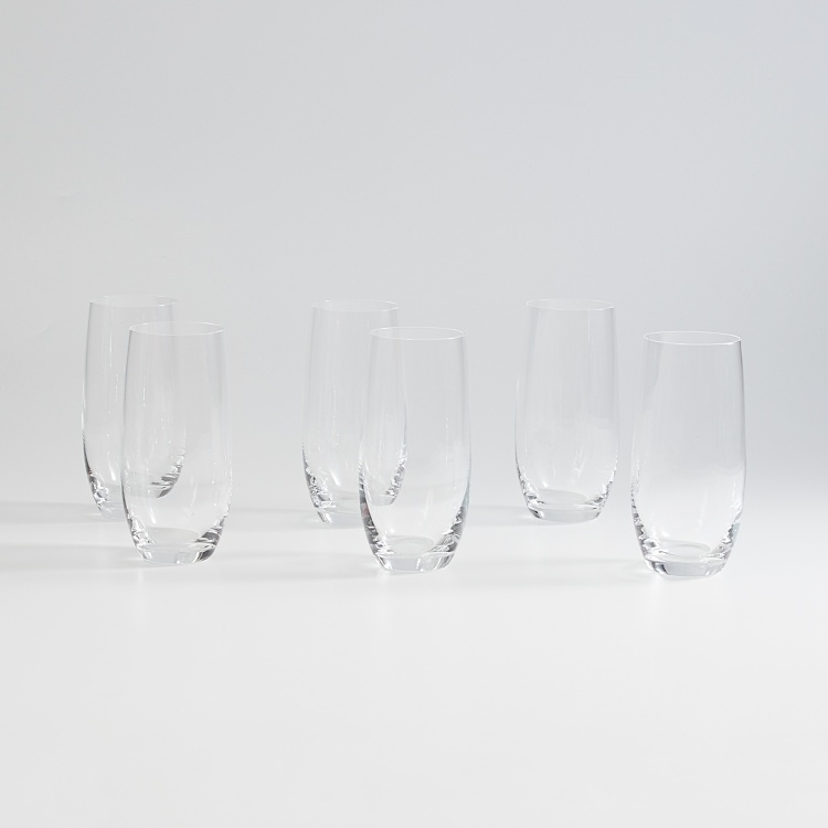 BOHEMIA Crystal Club Solid Drinking Glasses - Set of 6