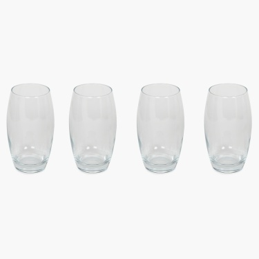 Abigail Fusion Glass Set-4 Pcs.