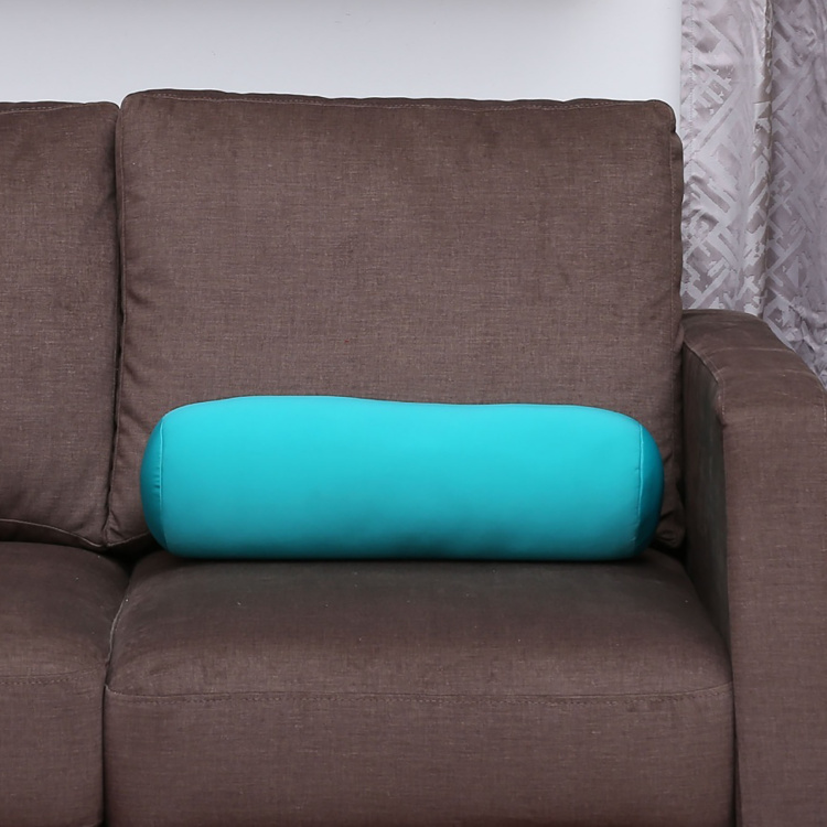 Edwin Bean Filled Cylindrical Cushion - 16 X 45 cm
