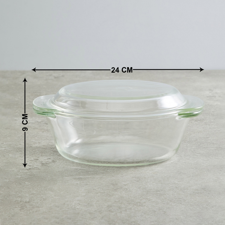 BOROSIL Microwaveble Casserole with Lid