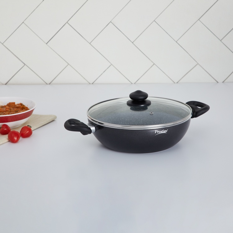 Prestige Kadai With Glass Lid