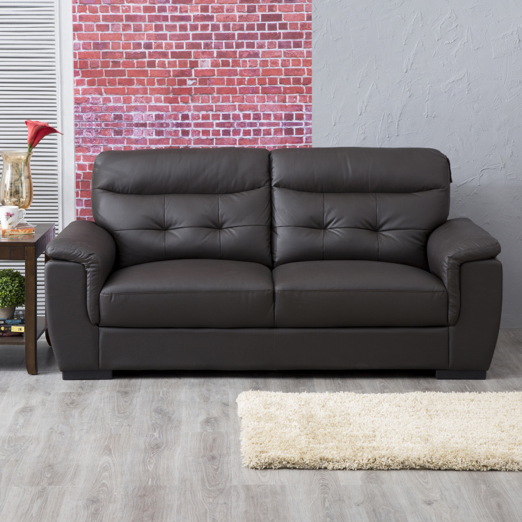 Corbis Textured Three-Seater Sofa