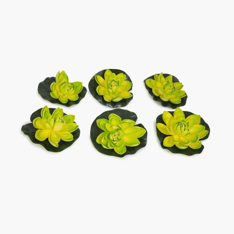 FLOATING LOTUS Solid Artificial Lotus Flower