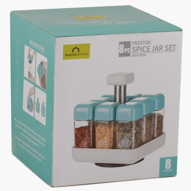 Preston Jar Set With Stand- 10 Pcs.