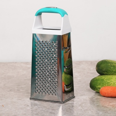 Pelican Four Side Grater With Teal Handle