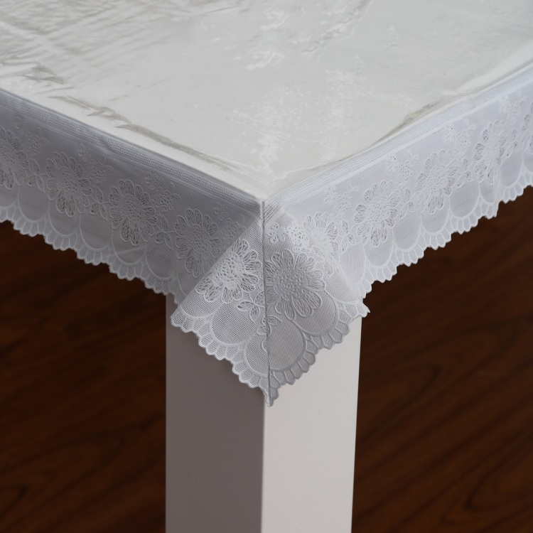 Elfin Sheer Rectangular Table Cover