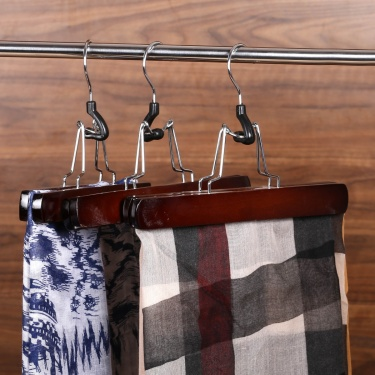 Winston Kennedy Wooden Trouser Hanger- Set Of 3