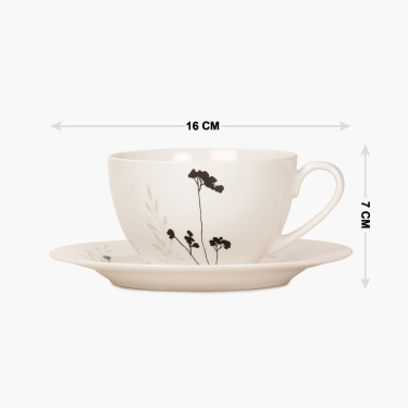 Elite Tea Cup And Saucer