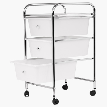 Hudson 3 Tier Drawer Trolley