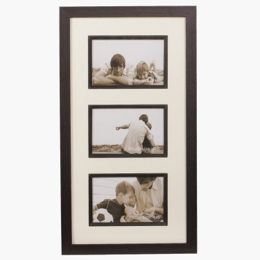 Memories Sterling 3 Opening Photo Frame - 26 x 47 cm