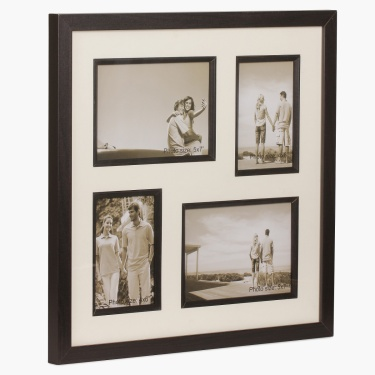 Memories Sterling 4 Opening Photo Frame - 42 x 42 cm
