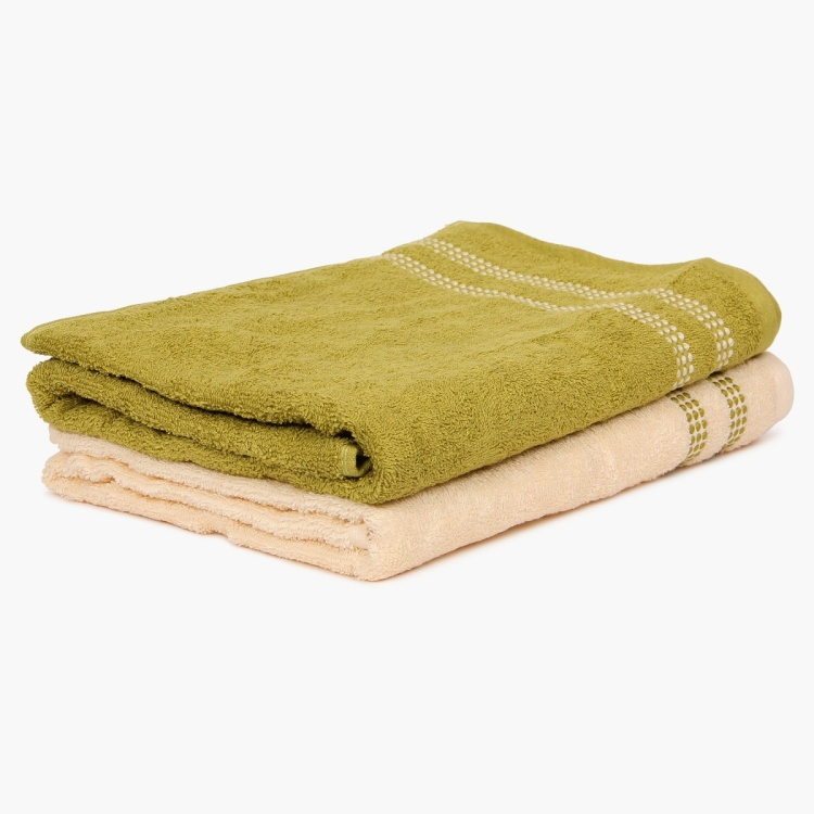 Tesanee Bath Towel-Set Of 2