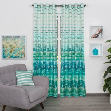 Matrix Panama Digital Printed Door Curtain - 135 X 225 CM
