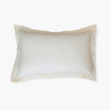 Marshmellow Solid Pillow Cover - Set Of 2 - 45 X 70 cm