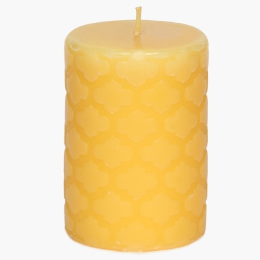 Redolance Embossed Pillar Candle - 11 CM