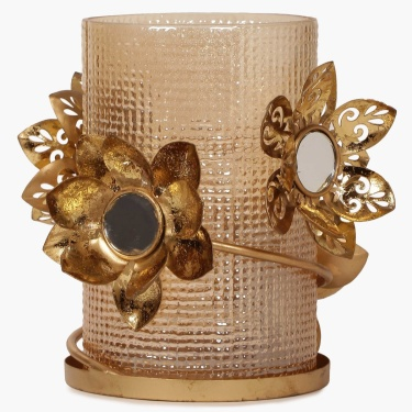 Majestic Gold Tealight Holder