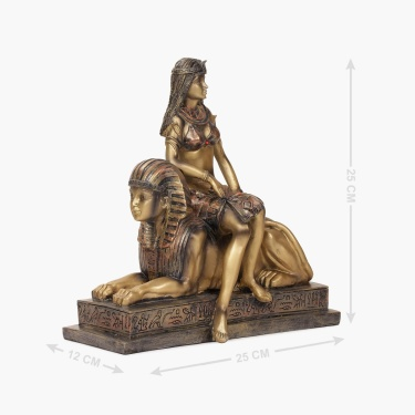 Alarica Lady On Couch Figurine