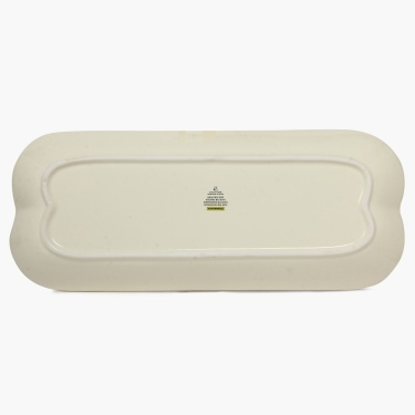 Cranberry Rectangular Platter - 15 Inch