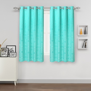 Matrix Blackout Window Curtain - Set Of 2