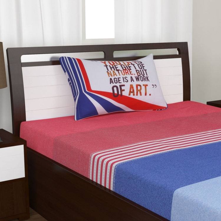 SPACES Nautical Code 2-Pc. Single Bedsheet Set - 152 x 228 cm
