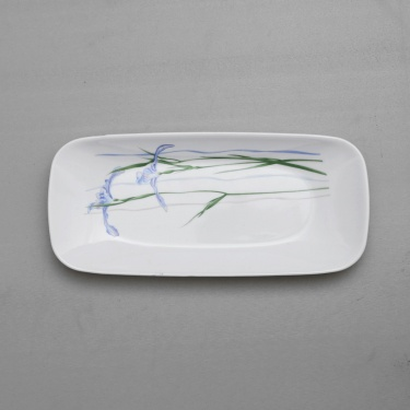CORELLE Shadow Iris Fish Plate