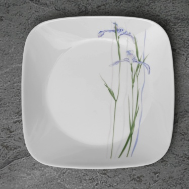 CORELLE Shadow Iris Medium Plate