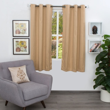 Aspen Jacquard Window Curtain - Set of 2 - 110 X 160 CM