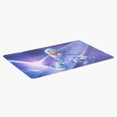 Adventure of U-tron Space Printed Placemat
