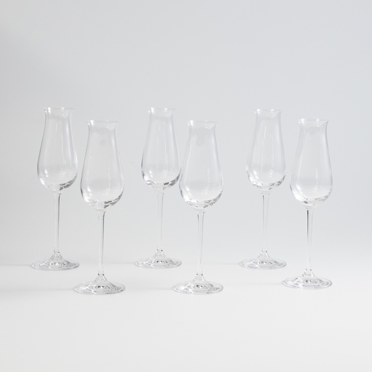 OCEAN Lucaris  6-piece  Bordeaux Wine Glass set - 240 ml