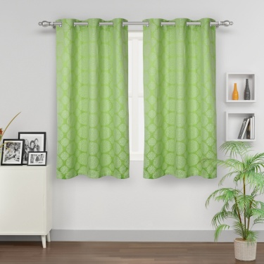Jade Blackout Window Curtain-Set Of 2 Pcs.