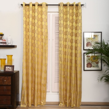Matrix Griffin Blackout Door Curtain - Set Of 2