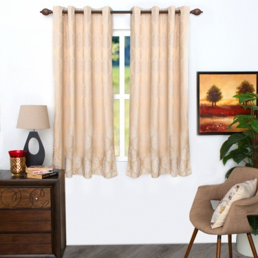 Matrix Griffin Black Out Window Curtain - Set of 2 - 135 X 225 CM