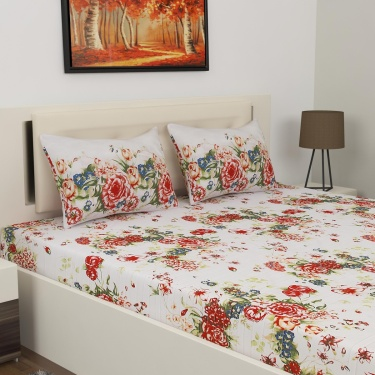 PORTICO Radiance 3-Pc. Queen Size Bedsheet Set - 224 x 254 cm