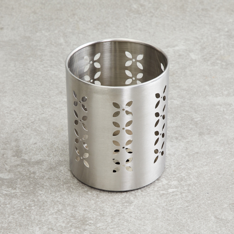 Gabrielle Stainless Steel Cutlery Holder