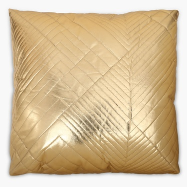 Merry Shimmer Pu Filled Cushion - 65 x 65 CM