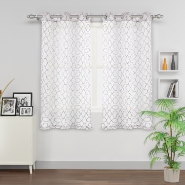 Matrix Sheer Window Curtain
