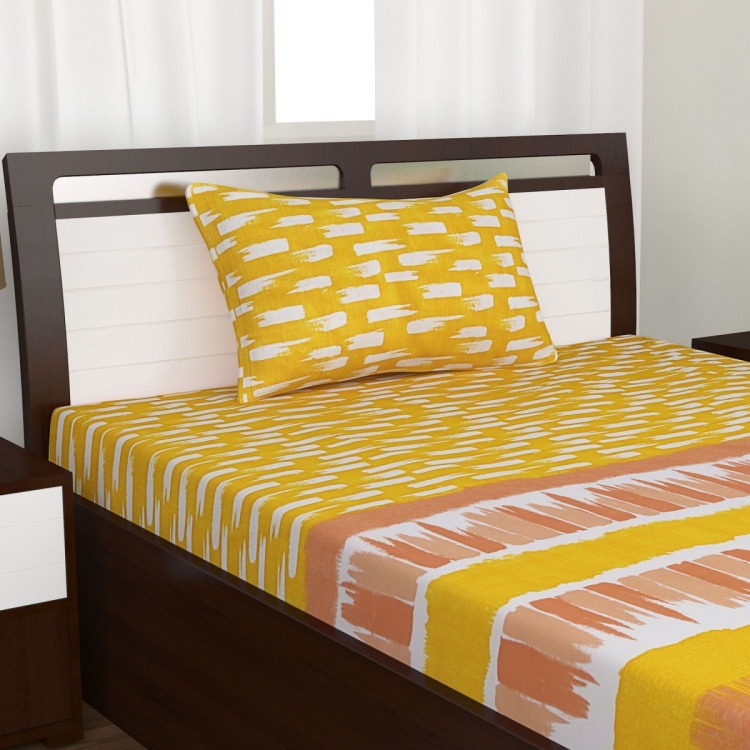 Mandarin Seymour 2-Pc. Single Bedsheet Set - 152 x 274 cm