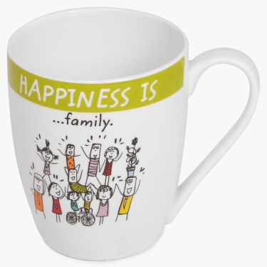 Happiness Bone China Mug