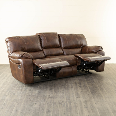 Appollo textured Three-Seater Recliner