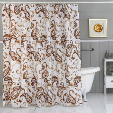 Printed Shower Curtain- 240x180cm